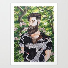 Self Portrait 2017 Art Print