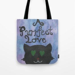 A Purrfect Love Tote Bag