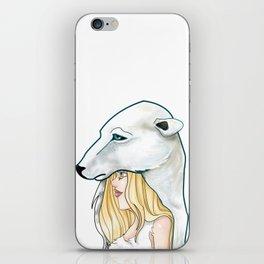 Winter, the Polar Bear God iPhone Skin