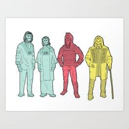 Your Favorite Apes Art Print