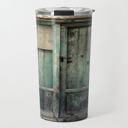 Old Green Door Travel Mug