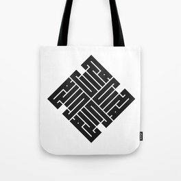 Force. Unique Russian Sacred typography.  Tote Bag