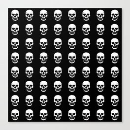 Heart Skulls Canvas Print