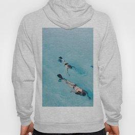 swimming in ocean Hoody