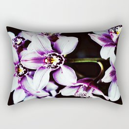 Orchiiiiiiiids. Rectangular Pillow
