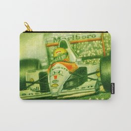 Ayrton Senna Tribute Carry-All Pouch