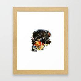 Skull: Homage to Basquiat Framed Art Print