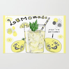 You're Welcome, Love, The Lemons Rug
