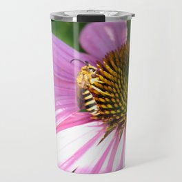 The wasp on the flower Travel Mug