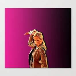 Buffy Slays Canvas Print