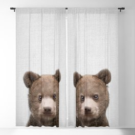 Baby Bear - Colorful Blackout Curtain