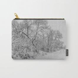 Winter, Missouri River, North Dakota Carry-All Pouch