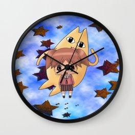 Chibi Chiyo Wall Clock