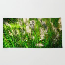 Grass (1) Beach Towel