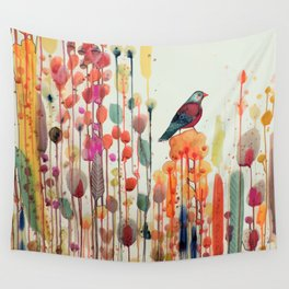 joie de vivre Wall Tapestry