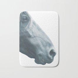 Horse head - fine art print n° 2, nature love, animal lovers, wall decoration, interior design, home Bath Mat