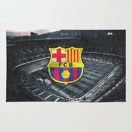 FC Barcelona sketch Rug