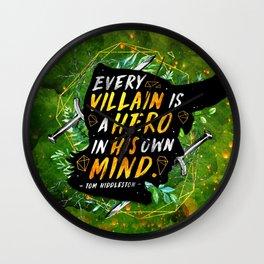 Every villain Wall Clock