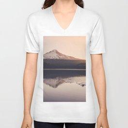 Wild Mountain Sunrise Unisex V-Neck