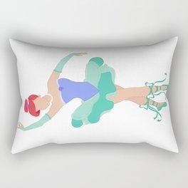 Mermaid Ballerina Princess Rectangular Pillow