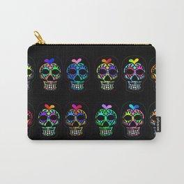 Dozen Sugar Skulls Carry-All Pouch
