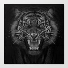 Heart of a Tiger Canvas Print