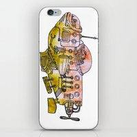 submarine iPhone & iPod Skins featuring Submarine  by Joseph Kennelty