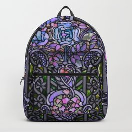 Louis Comfort Tiffany - Decorative stained glass 25. Backpack