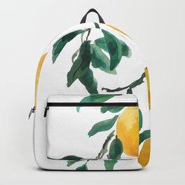 yellow lemon 2018 Backpack