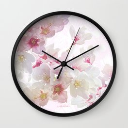 In Early Spring Wall Clock