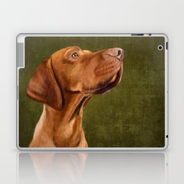 Magyar Vizsla portrait Laptop & iPad Skin