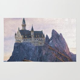 The Castle on the Hill Rug