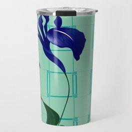 High Rise Iris Travel Mug