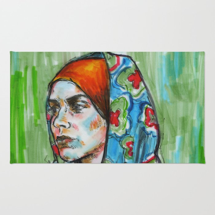 The Revolution Will be Female - 2 Rug