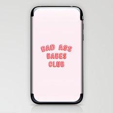 BAD ASS BABES CLUB iPhone & iPod Skin