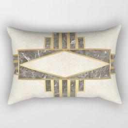 Luxurious gold and marble Rectangular Pillow