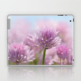 Allium pink macro 303 Laptop & iPad Skin