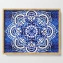 Mandala Blue Colorburst by vintageby2sweet
