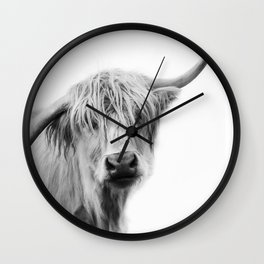 Hey Cow Wall Clock