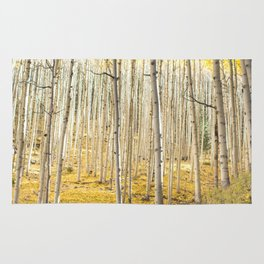 Fall Colors, Yellow Woods Rug