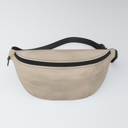 Burst of Color Pantone Hazelnut Abstract Watercolor Blend Fanny Pack