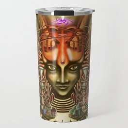 Young Sadhu's visionary pilgrimage Travel Mug