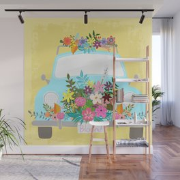 Bloom Where You Are Planted Wall Mural