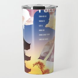 Shaw Brothers Poster Series :: 8 Diagram Pole Fighter Travel Mug