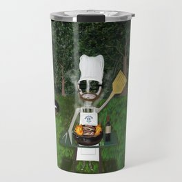 Corky the Grillman Travel Mug