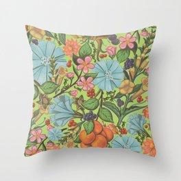 Fruity Beauty Throw Pillow