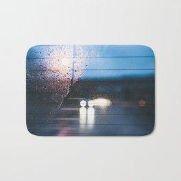 Rainy Drive Bath Mat