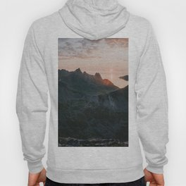 Midnight Sun - Landscape and Nature Photography Hoody