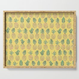 Summer of pineapples is not over yet Serving Tray