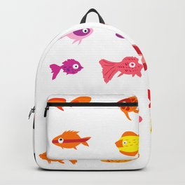 Fish collection Backpack